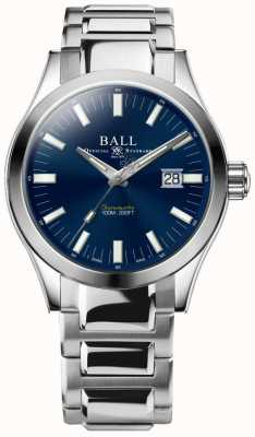 Ball Watch Company Ingegnere m marvelight 43mm quadrante blu NM2128C-S1C-BE