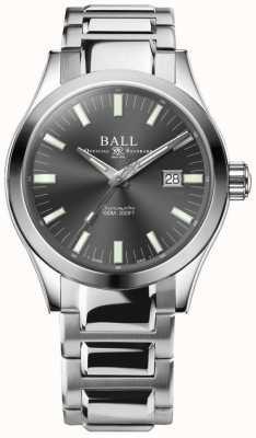 Ball Watch Company Ingegnere m marvelight 43mm quadrante grigio NM2128C-S1C-GY