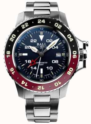 Ball Watch Company Ingegnere idrocarburo aerogmt ii quadrante blu 42mm DG2018C-S3C-BE