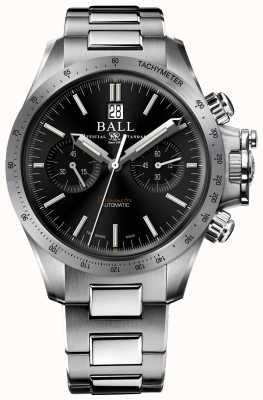 Ball Watch Company Quadrante nero 42mm cronografo racer idrocarburo ingegnere CM2198C-S2CJ-BK