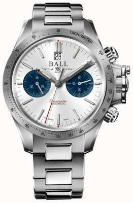 Ball Watch Company Cronografo meccanico da corsa in acciaio idrocarburo 42mm CM2198C-S2CJ-SL