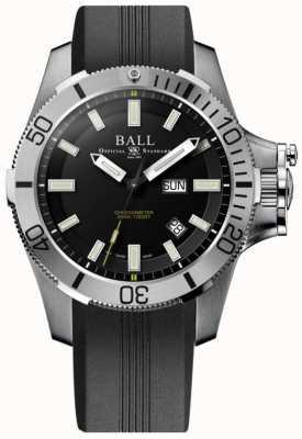 Ball Watch Company Cinturino in gomma da combattimento sottomarino in idrocarburo da 42mm DM2276A-PCJ-BK