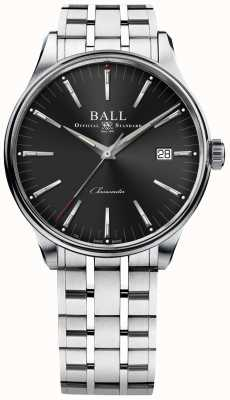 Ball Watch Company Trainmaster produce una riserva di carica di 80 ore 40mm NM3280D-S1CJ-BK