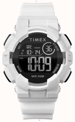 Timex Tracolla bianca da donna con cinturino bianco 44mm TW5M23700