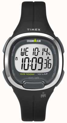 Timex Womens ironman essentials 10 nero e cromato TW5M19600