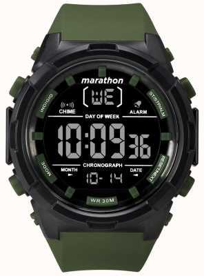 Timex Cinghia da uomo con cinturino nero oliva da 50 mm TW5M22200