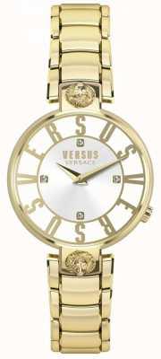 Versus Versace Bracciale da donna in oro kristenhof con quadrante in oro pvd SP49060018