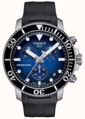 Tissot Cronografo al quarzo da uomo seastar 1000 in acciaio inossidabile T1204171704100