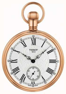 Tissot Orologio da tasca meccanico Lepine in acciaio inossidabile placcato oro rosa T8614059903301