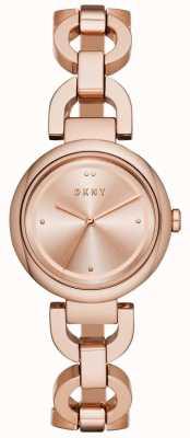 DKNY Cinturino da donna in oro rosa placcato pvd NY2769