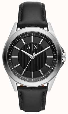 Armani Exchange Orologio da uomo | cinturino in pelle nera | AX2621