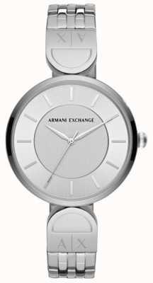 Armani Exchange Orologio da donna in acciaio inossidabile AX5327