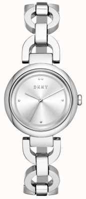 DKNY Orologio da donna con cinturino in acciaio inossidabile NY2767