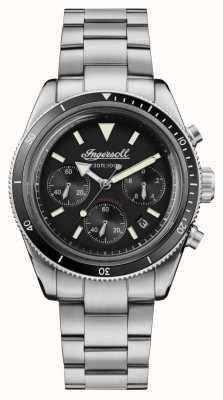Ingersoll Cronografo automatico scovill in acciaio inossidabile I06201