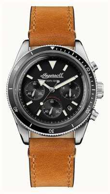 Ingersoll Il cinturino in pelle marrone cronografo automatico scovill I06202