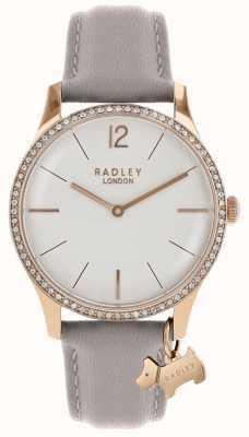 Radley Cinturino in pelle di frassino con cassa in oro rosa RY2702