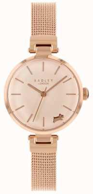 Radley Bracciale da donna con cinturino in oro rosa RY4360