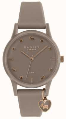 Radley Orologio in silicone da donna con oro rosa RY2694