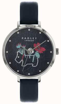 Radley Orologio da donna con stampa floreale e cane nero RY2681