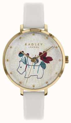Radley Orologio da donna con cinturino in gesso con stampa fiori e cani RY2684