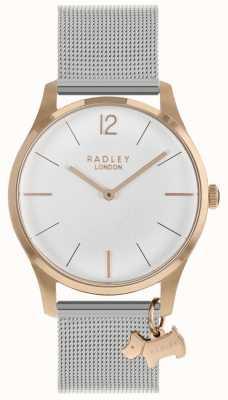 Radley Cinturino in argento cinturino in argento con cinturino in oro rosa RY4355