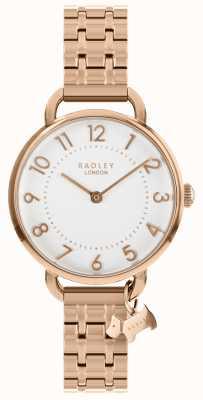 Radley Orologio da donna con cinturino a spalla aperta in oro rosa RY4344