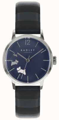 Radley Quadrante in raso con inchiostro blu RY2675