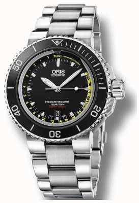Oris Set di profondimetro automatico per aquis ex display 01 733 7675 4154-SET MB