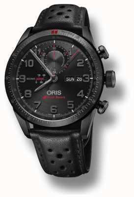 Oris Cinturino automatico in pelle nera Audi sport limited edition ii 01 778 7661 7784-SET LS
