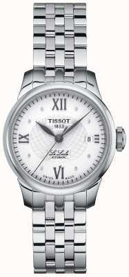 Tissot Orologio automatico da donna con diamanti sottili T41118316