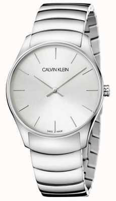 Calvin Klein Orologio da uomo classico anche K4D21146