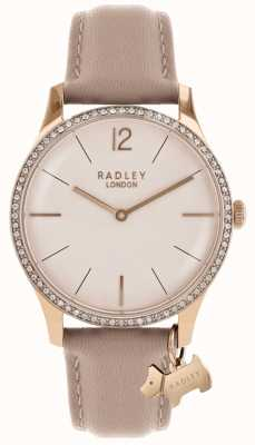 Radley Cinturino da donna in pelle rosa macinata RY2524