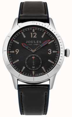 Joules Quadrante blu scuro con cinturino in pelle blu scuro JSG006B