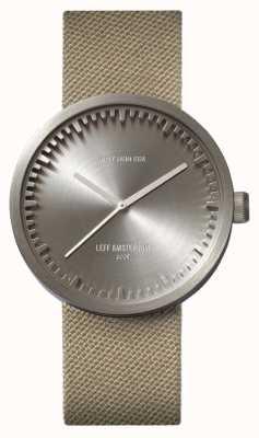 Leff Amsterdam Cinturino in pelle con cinturino d38 in acciaio inossidabile LT71003