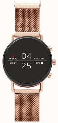 Skagen Falster 2 gen 4 smart watch cinturino in oro rosa SKT5103