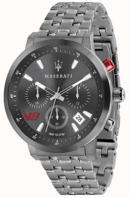 Maserati Mens gt 44mm | quadrante grigio | bracciale in acciaio inossidabile grigio R8873134001