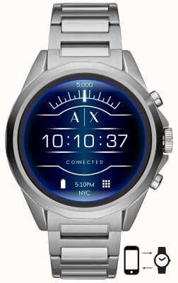 Armani Exchange Connesso | orologio intelligente | bracciale in acciaio inossidabile AXT2000