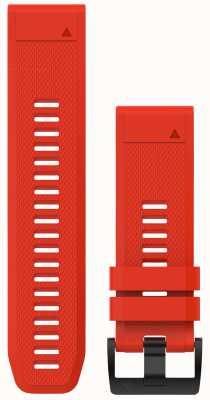 Garmin Fiamma rosso fuoco quickfit 26mm fenix 5x / tactix charlie 010-12517-02