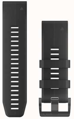 Garmin Cinturino in gomma nera quickfit 26mm fenix 5x / tactix charlie 010-12741-00