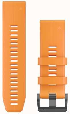 Garmin Cinturino in caucciù arancione quickfit 26mm fenix 5x / tactix charlie 010-12741-03