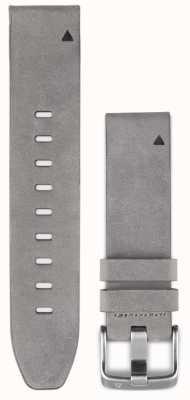 Garmin Tracolla in pelle scamosciata grigia quickfit 20mm fenix 5s 010-12491-16