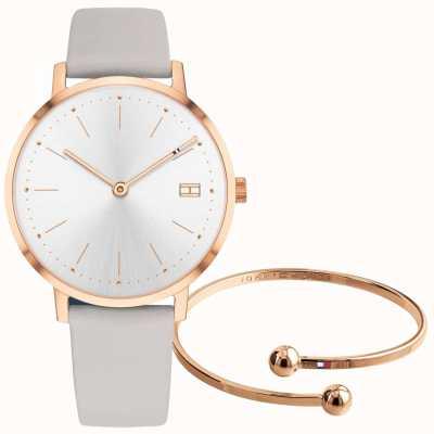 Tommy Hilfiger Set da regalo per orologio e braccialetto da donna 2770032