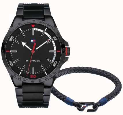 Tommy Hilfiger Set regalo per orologio da uomo e bracciale 2770029