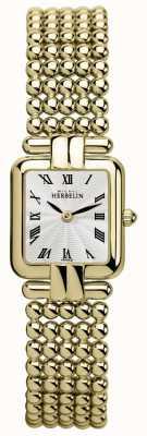 Michel Herbelin Signore | oro classico | orologio perles 17473/BP08