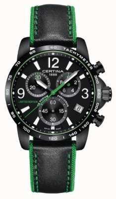 Certina Wrc edizione limitata | podio ds | uomo verde e nero C0344173605710