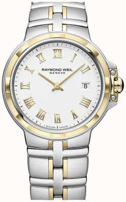 Raymond Weil Parsifal bicolore | oro e acciaio inossidabile | orologio da uomo 5580-STP-00308