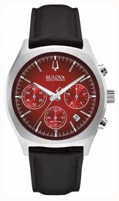 Bulova Mens accutron ii rosso cronografo giorno 96B238