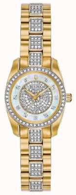 Bulova Quadrante per bracciale in cristallo bicolore da donna 98L241