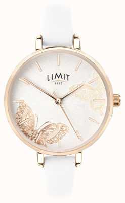 Limit | orologio da giardino segreto da donna | quadrante a farfalla bianca | 60013