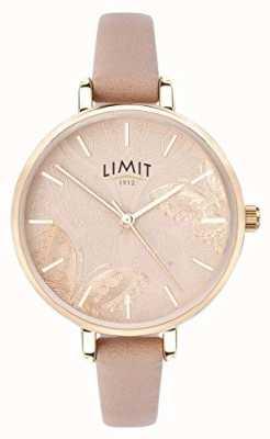 Limit | orologio da giardino segreto da donna | quadrante a forma di farfalla di pesca | 60014